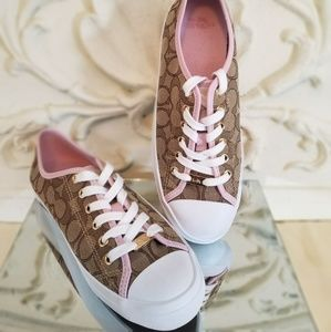 Coach Empire Outline Signature Sneaker NWOT